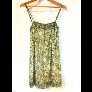 J Crew garden floral dress